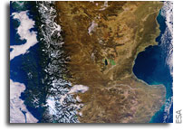 Image: Patagonia As Seen From Orbit