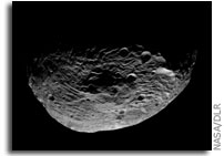 Image: Vesta's South Pole As Seen From Orbit