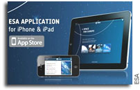ESA Releases iPad and iPhone Apps