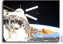 Coverage Set for Space Station Departure of European Cargo Ship